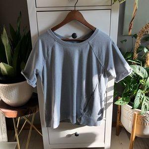 Lululemon short sleeved sweatshirt size 10